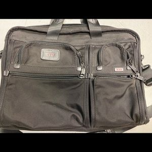 Men's Tumi Briefcase Messenger Bag